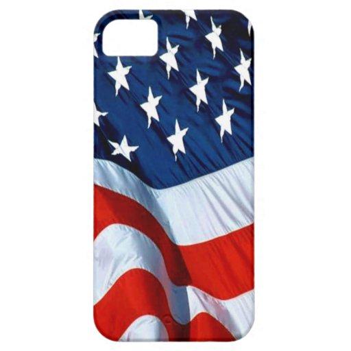 Bandera de los E.E.U.U. iPhone 5 Carcasa