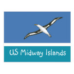Bandera de los E.E.U.U. Midway Islands Postales