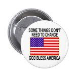 Bandera de los E.E.U.U. ninguna necesidad del camb Pin