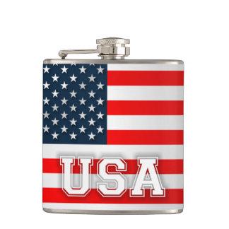 Bandera de los E.E.U.U. Petaca