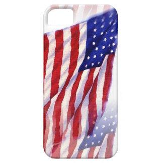Bandera de los E.E.U.U. que agita Funda Para iPhone SE/5/5s