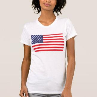 Bandera de los E.E.U.U. que restaura la camisa del