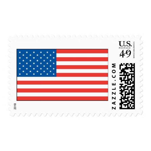 Bandera de los E.E.U.U. Sellos