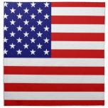 Bandera de los E.E.U.U. Servilleta De Papel