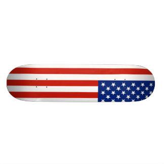 Bandera de los E.E.U.U. Skate Board