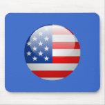 Bandera de los E.E.U.U. Tapete De Raton