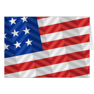 Bandera de los E.E.U.U. Tarjeta Pequeña