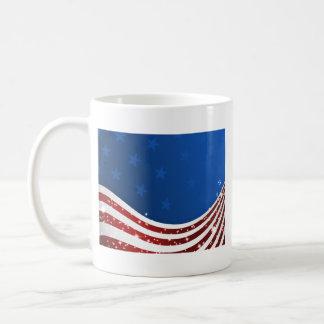 Bandera de los E.E.U.U. Taza