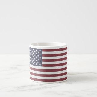 Bandera de los E.E.U.U. Taza Espresso