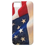Bandera de los E.E.U.U. - viejo orgullo del americ iPhone 5 Cárcasa