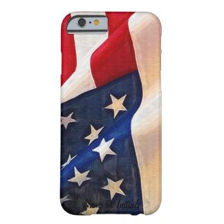 Bandera de los E.E.U.U. - viejo orgullo del Funda De iPhone 6 Barely There