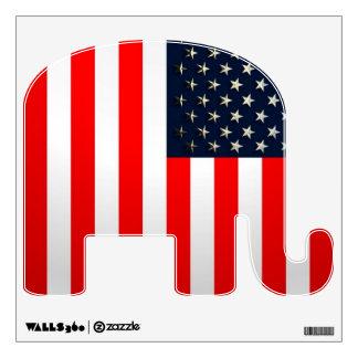 Bandera de los E.E.U.U. Vinilo Decorativo