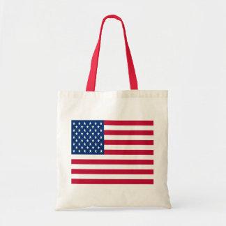 Bandera de los Estados Unidos de América Bolsa Tela Barata