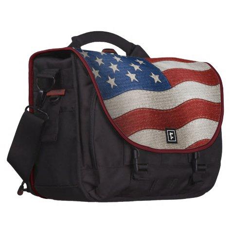 Bandera de los Estados Unidos de América - ejemplo Bolsa Para Ordenador