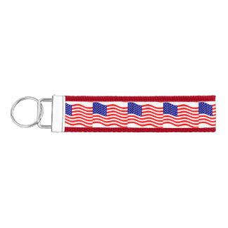 Bandera de los Estados Unidos de América - sus Llavero De Pulsera