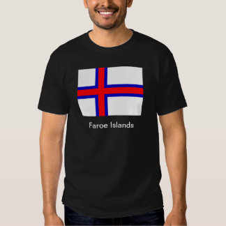 Bandera de los Faroe Island Playeras