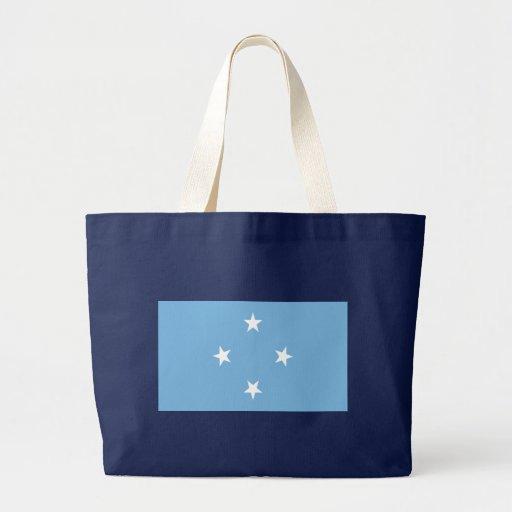 Bandera de los Federated States of Micronesia Bolsa Tela Grande
