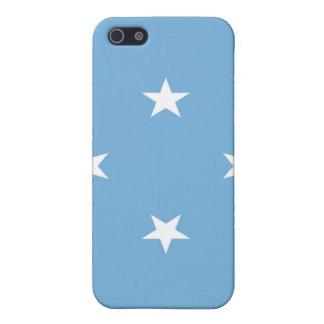 Bandera de los Federated States of Micronesia iPhone 5 Protectores