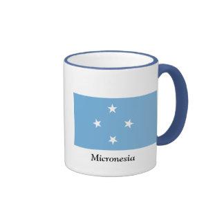 Bandera de los Federated States of Micronesia Taza De Café