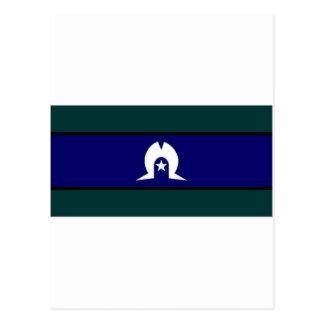 Bandera de los isleños del estrecho de Australia Postal