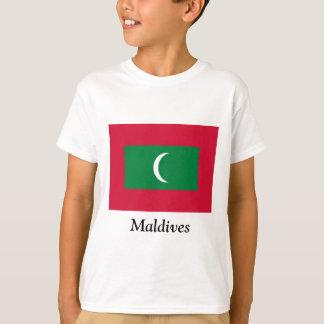 Bandera de los Maldivas Poleras