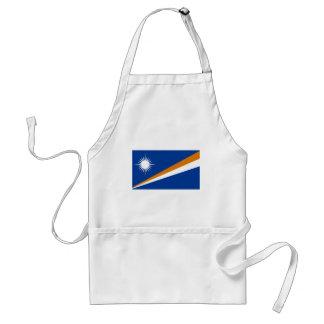 Bandera de los Marshall Islands Delantales