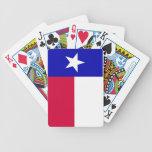Bandera de los naipes de Tejas Barajas De Cartas