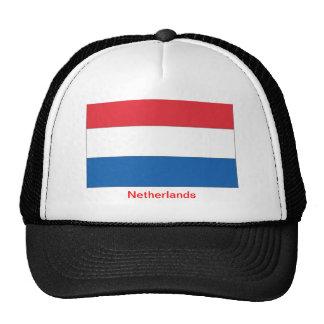 Bandera de los Países Bajos Gorras De Camionero