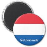 Bandera de los Países Bajos Imanes De Nevera