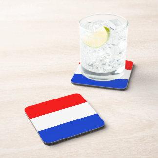 Bandera de los Países Bajos Posavasos De Bebidas