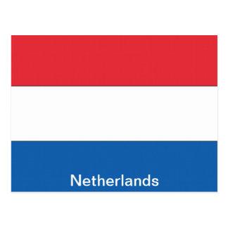 Bandera de los Países Bajos Tarjetas Postales