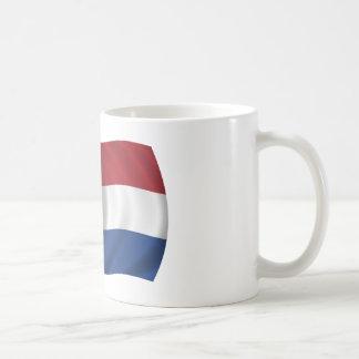 Bandera de los Países Bajos Taza