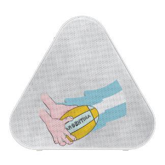 Bandera de los partidarios del equipo del rugbi de altavoz