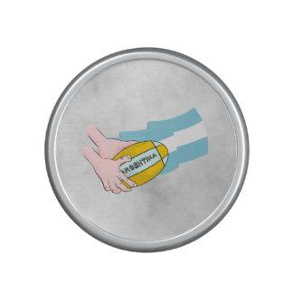 Bandera de los partidarios del equipo del rugbi de altavoz con bluetooth