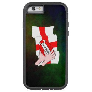 Bandera de los partidarios del equipo del rugbi de funda de iPhone 6 tough xtreme