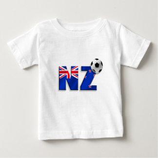 Bandera de los regalos del balón de fútbol de NZ Poleras