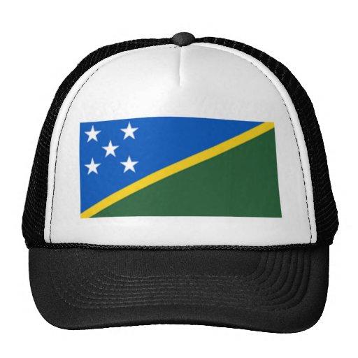 Bandera de los Solomon Island Gorros Bordados