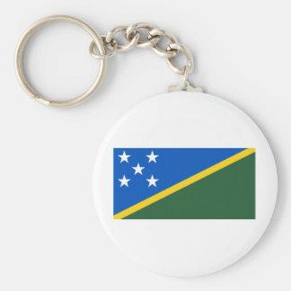 Bandera de los Solomon Island Llavero