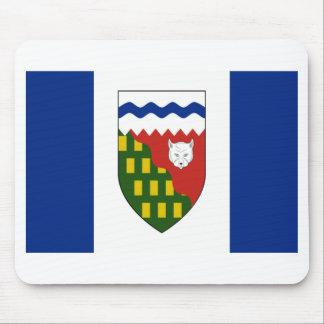 Bandera de los territorios del noroeste alfombrillas de ratón