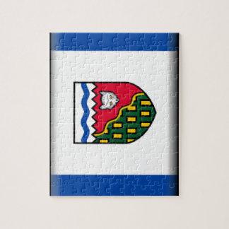Bandera de los territorios del noroeste (Canadá) Puzzles