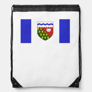 Bandera de los territorios del noroeste mochilas