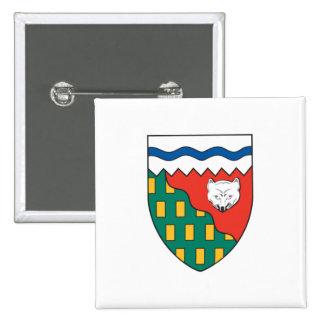 Bandera de los territorios del noroeste pins
