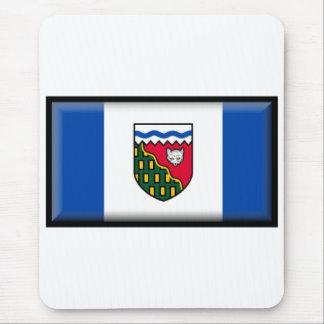 Bandera de los territorios del noroeste tapete de raton