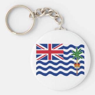 Bandera de los territorios del Océano Índico britá Llavero Redondo Tipo Pin