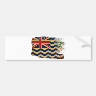 Bandera de los territorios del Océano Índico britá Pegatina Para Auto
