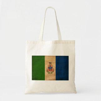Bandera de los territorios del Yukón Bolsas Lienzo