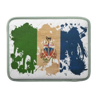 Bandera de los territorios del Yukón Funda Macbook Air