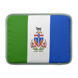 Bandera de los territorios del Yukón Fundas Para Macbook Air