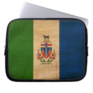 Bandera de los territorios del Yukón Manga Portátil