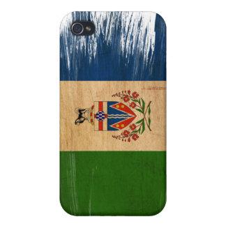 Bandera de los territorios del Yukón iPhone 4/4S Carcasas